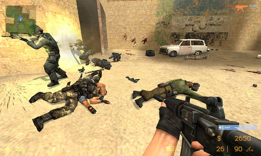 скачать counter strike 1 6 zip файлом